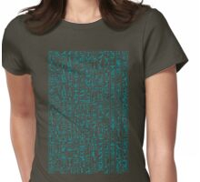Hieroglyphics Moonstone BLUE Womens Fitted T-Shirt
