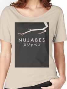 Nujabes 3D Blossom Women's Relaxed Fit T-Shirt