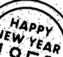 Happy New Year 1959 Sticker