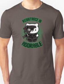 Resistance Is Adorable Unisex T-Shirt