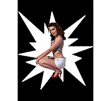 Pin Up Star Photographic Print