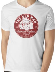 A Christmas Story, The Old Man (Red) Mens V-Neck T-Shirt