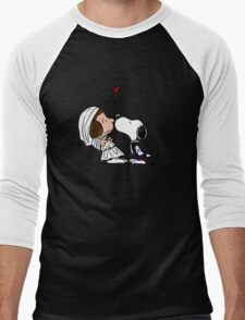 Snoopy Lucy Star Wars Men's Baseball ¾ T-Shirt