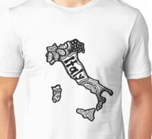 Italy Zentangle Unisex T-Shirt