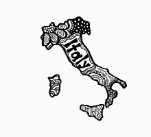 Italy Zentangle Unisex T-Shirt