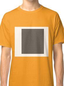 Retro Squares Pattern Classic T-Shirt