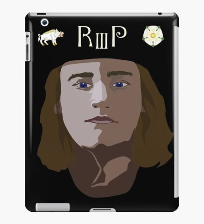Richard III iPad Case/Skin