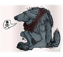 Werewolf Grumpies Poster