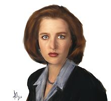 Special Agent Dana Scully by Mat Hall