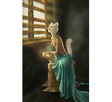 Cat woman Photographic Print
