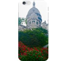 Montmartre from the Street iPhone Case/Skin