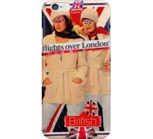 Flights Over London #british iPhone Case/Skin