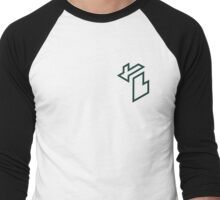 Isometric Michigan (Michigan State University) Men's Baseball ¾ T-Shirt