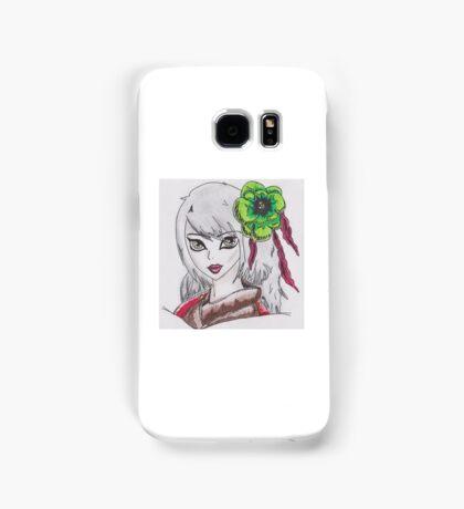 Geisha Girl (Alix Kol) - The Red Paintings Samsung Galaxy Case/Skin
