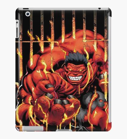 Incredible Red iPad Case/Skin