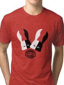 Bioshock Masquerade Ball (White and black) Tri-blend T-Shirt