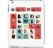 London Alphabet iPad Case/Skin