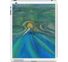 DW: I am the Child of Time iPad Case/Skin
