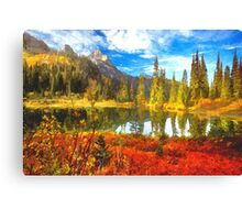 """""""Fall In The Mountains"""" Canvas Print"""