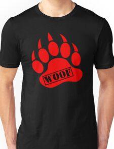 Bear Paw Woof Unisex T-Shirt