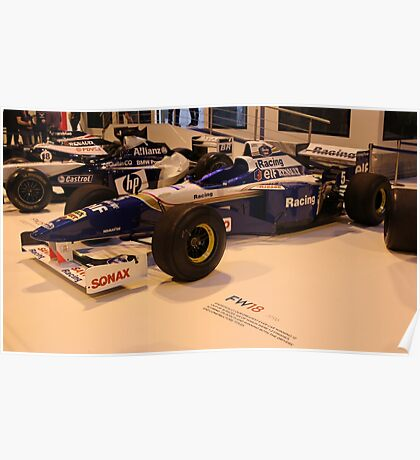 Williams Renault FW18 Poster
