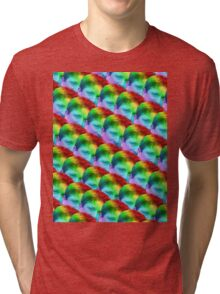 2 Much Kappa Pride Tri-blend T-Shirt