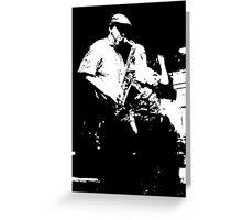 Sax & Trumpet  Greeting Card