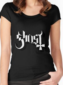 Ghost B.C. Band Logo Women's Fitted Scoop T-Shirt