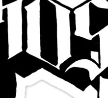 Ghost B.C. Band Logo Sticker