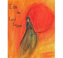DW: I am the Last Timelord Photographic Print