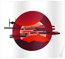 Jakku Bound - Star Wars Poster