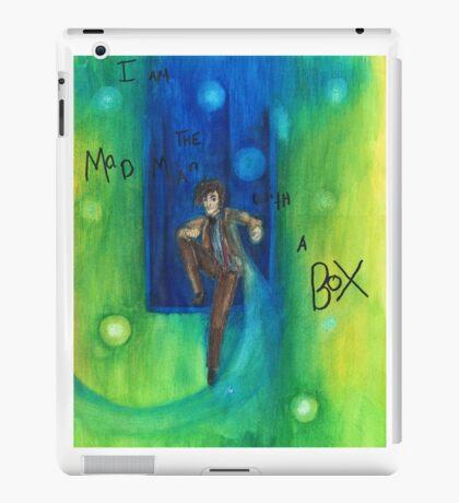 DW: I am a Mad Man with a Box iPad Case/Skin