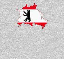 Flag Map of Berlin Unisex T-Shirt