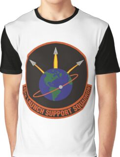 45th Launch Support Squadron Logo Graphic T-Shirt
