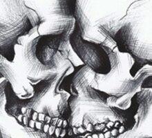 Skull love Sticker