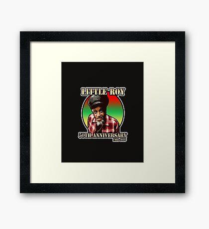 Little Roy Framed Print