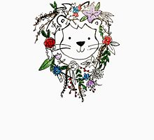 Flower Mane Lion  Unisex T-Shirt
