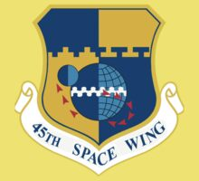 45th Space Wing Logo Baby Tee