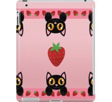 Strawberry Kittens iPad Case/Skin