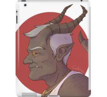 Gargoyle Stan iPad Case/Skin