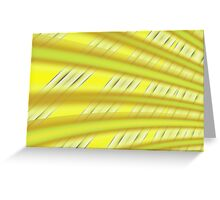 Fractal Play in Citruslicious Greeting Card
