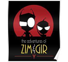 Adventures of Zim & Gir Poster