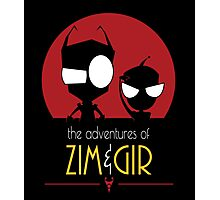 Adventures of Zim & Gir Photographic Print