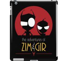 Adventures of Zim & Gir iPad Case/Skin