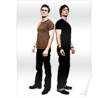 Salvatore Brothers The Vampire Diaries Poster
