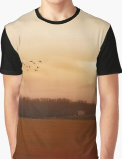 A November Day In The Country Graphic T-Shirt