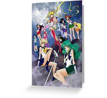 Sailor Moon Crystal III Greeting Card