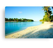 Great tropical images Canvas Print