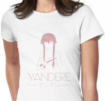 Yandere Mode! Womens Fitted T-Shirt