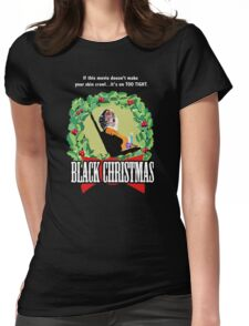 Black Christmas - Original Slasher Womens Fitted T-Shirt